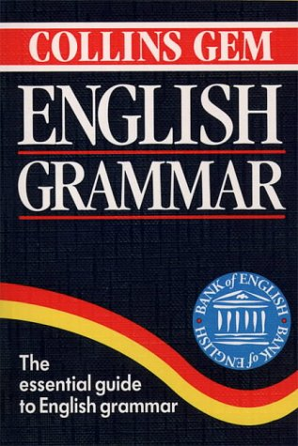 Collins Gem English Grammar (Collins Gems): Hardie, Ronald G.