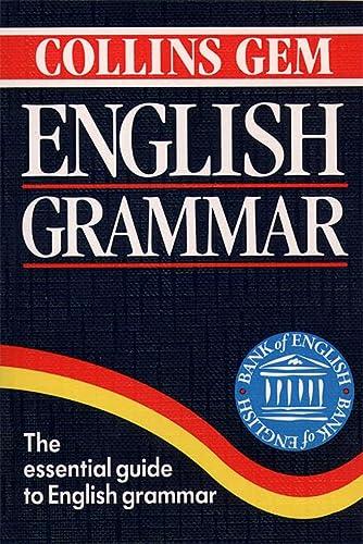 9780004583495: Collins Gem English Grammar (Collins Gems)