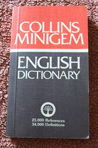 9780004583754: English Dictionary (Collins Minigem)