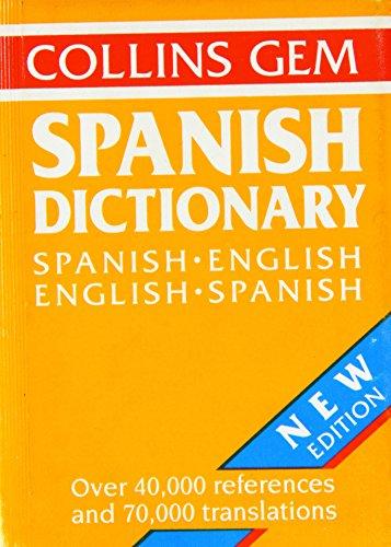 9780004585444: Spanish-English, English-Spanish Dictionary (Gem Dictionaries)