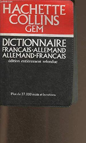 9780004585802: French-German Dictionary (Gem Dictionaries)