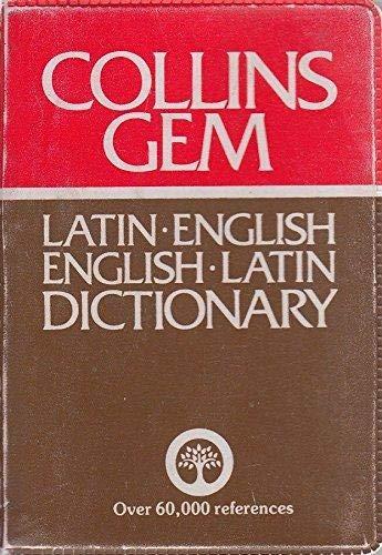 9780004586441: Latin-English, English-Latin Dictionary (Gem Dictionaries)