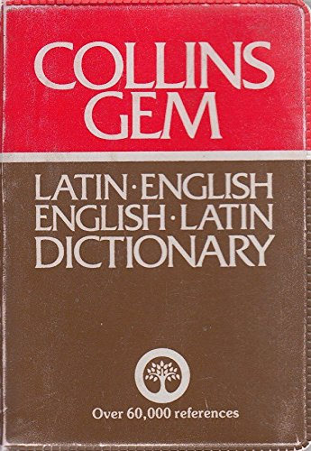 9780004586441: Collins Gem Latin Dictionary: Latin English English Latin (Gem Dictionaries)