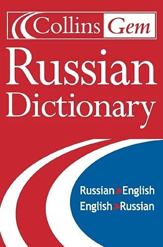9780004586526: Collins Gem Russian Dictionary (Collins Gem Series)
