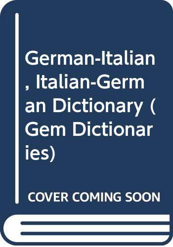 9780004586830: Collins Mondadori Dizionario Tedesco (Gem Dictionaries)