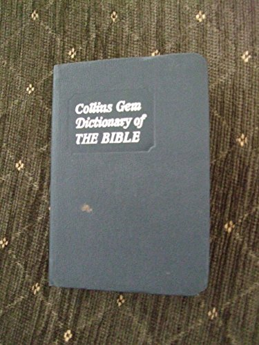 9780004587028: Collins Gem Dictionary of the Bible