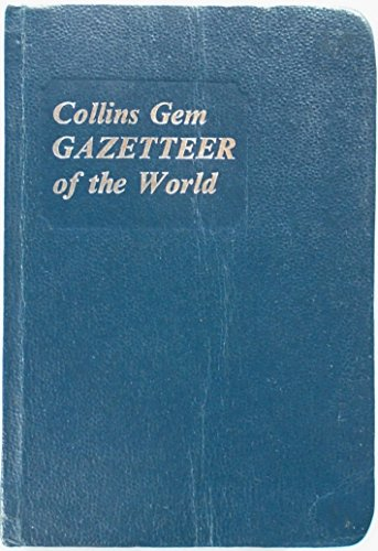 9780004587103: Gazetteer of the World (Gem Dictionaries)