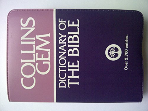 9780004587479: Dictionary of the Bible (Gem Dictionaries)