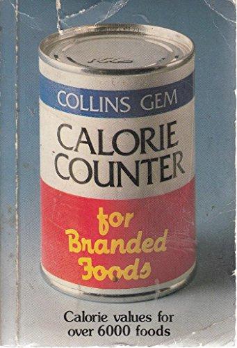 9780004587622: Gem Calorie Counter for Branded Foods (Collins Gems)