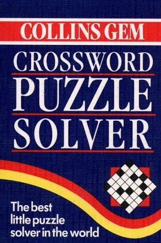 9780004587738: Collins Gem - Crossword Puzzle Solver (Gem Dictionaries)