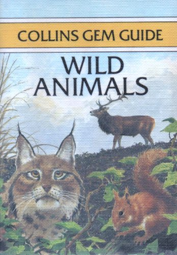 9780004588025: Wild Animals (Gem Nature Guides)