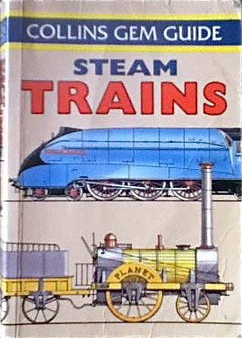 9780004588520: Gem Guide to Steam Trains (Collins Gems)