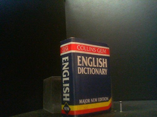 9780004589343: Collins Gem English Dictionary (Gem Dictionaries)