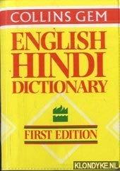 Collins Gem English Hindi Dictionary.: Pandey, D. P.