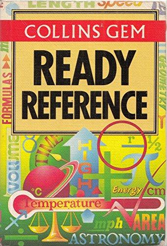 9780004589749: Collins Gem Ready Reference (Collins Gems)