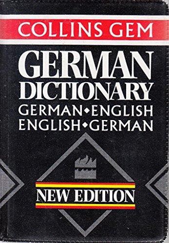 9780004589763: Collins Gem German Dictionary: German-English English-German (Collins Gems)
