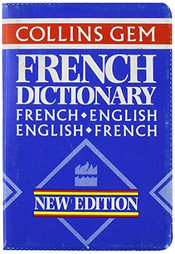 9780004589770: Collins Gem French Dictionary (Collins Gems)