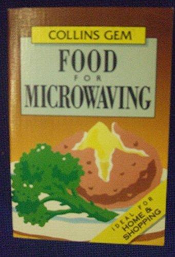 9780004589909: Collins Gem Food for Microwaving (Collins Gems)
