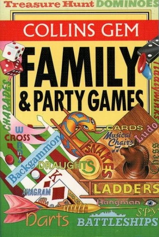 9780004589930: Family & Party Games (Collins Gem)