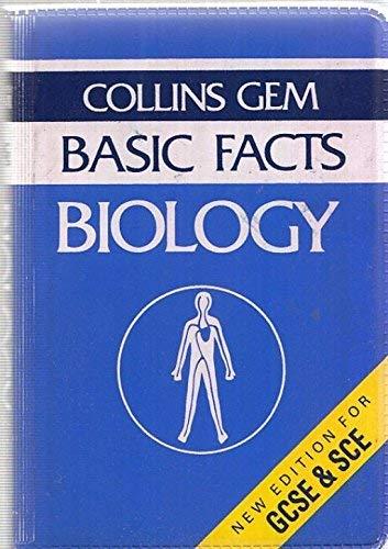 9780004591032: Biology (Basic Facts)