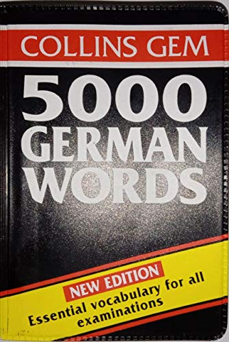 9780004593227: Collins Gem 5000 German Words (Collins Gems)