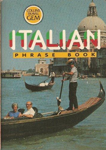 9780004594033: Italian Phrase Book (Travel Gems)