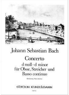 9780004600017: BACH - Concierto en Re menor para Oboe y Piano (Mehl/Winklhofer)