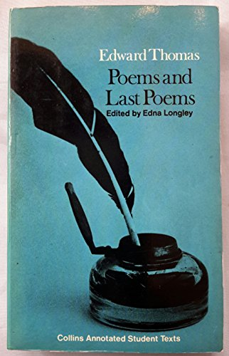 9780004603193: Poems and last poems: (arranged in chronological order of composition) (Collins annotated student texts)
