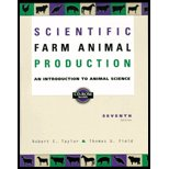 9780004613642: Scientific Farm Animal Production : An Introduction to Animal Science - Textbook Only