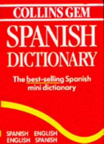 9780004700489: Collins Gem Spanish Dictionary: Spanish-English English-Spanish (Spanish Edition)