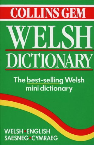Welsh Dictionary, Welsh-English/English-Welsh (Collins Gems)