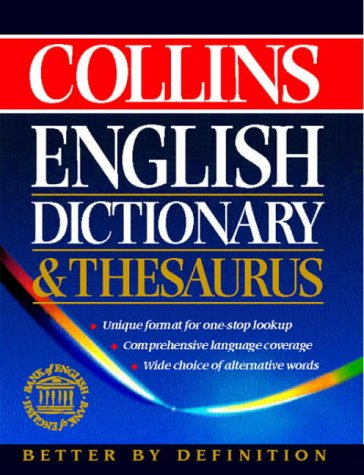9780004702698: Collins English Dictionary and Thesaurus (Dictionary & Thesaurus)