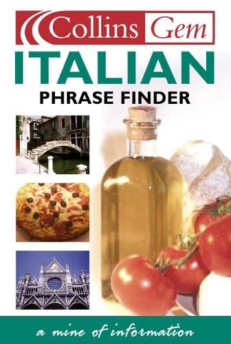 9780004702827: Italian Phrase Finder (Collins Gem Phrase Finder)