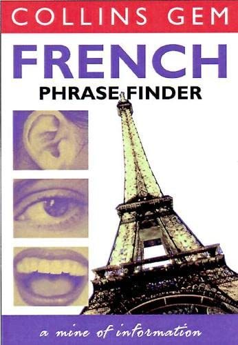 9780004702858: French Phrase Finder (Collins Gem Phrase Finder)