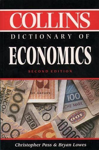 9780004703725: Collins Dictionary of - Economics