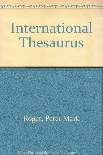 9780004703879: International Thesaurus