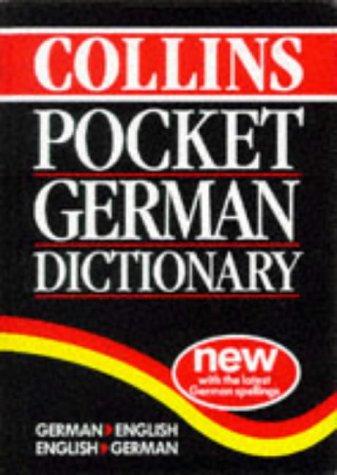 9780004703978: Collins Pocket German Dictionary: German-English, English-German