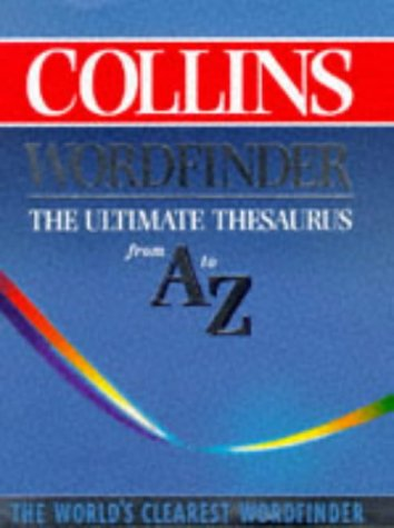 9780004704548: Collins Wordfinder: The Ultimate Thesaurus from A-Z