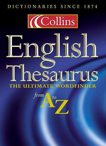 9780004704548: Collins Thesaurus