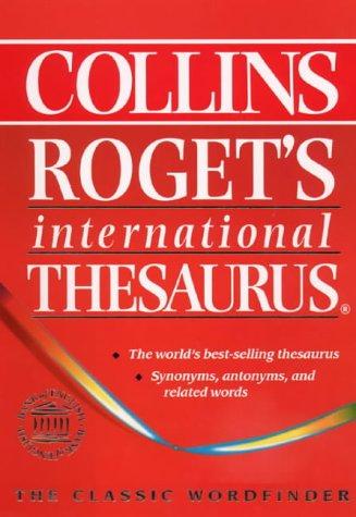 9780004704555: Collins Roget?s International Thesaurus