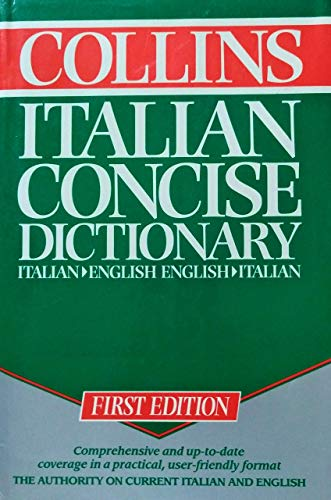 9780004705033: Collins Concise Italian Dictionary