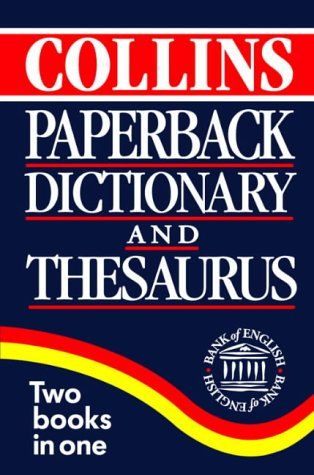 9780004705132: Collins Paperback Dictionary and Thesaurus