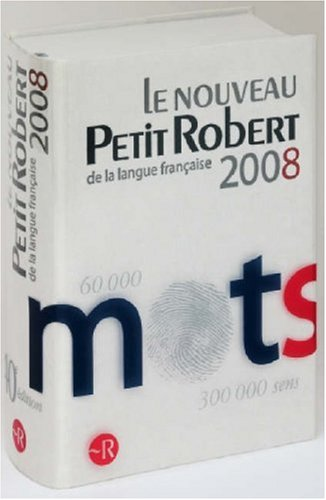 9780004705255: Le Petit Robert: Dictionnaire de la Langue Francaise (French Edition)