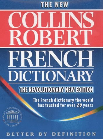 9780004705262: Collins Robert French Dictionary