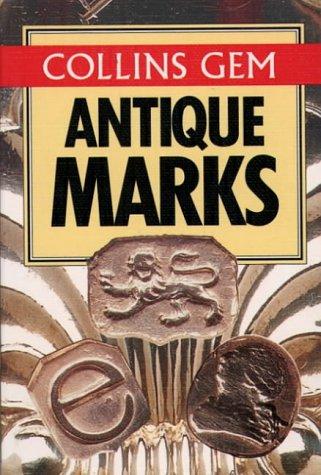 9780004705378: Collins Gem - Antique Marks (Collins Gems)