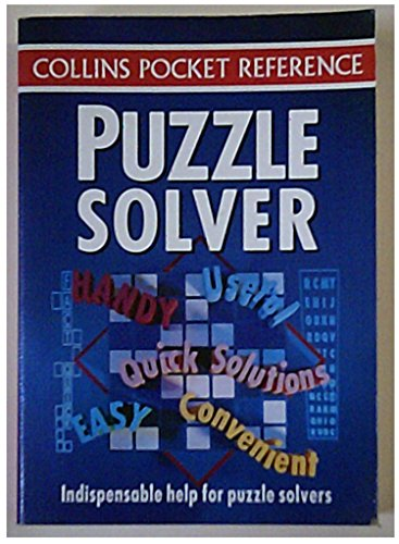 9780004706726: Puzzle Solver (Collins Pocket Reference)