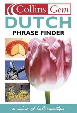 9780004706863: Collins Gem - Dutch Phrase Finder (Collins Gems)