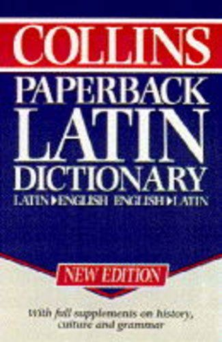 9780004706870: Collins Paperback Latin Dictionary