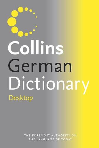 9780004707105: Collins Desktop German Dictionary: Desktop