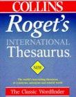 9780004707181: Collins Roget's International Thesaurus